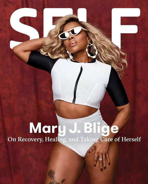Mary J. Blige Schools Us On Proper Self-Care Routine On Self Magazine Cover - AccelerateTv