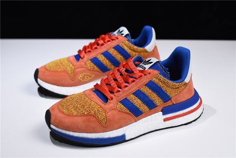the best attitude f6be7 0a2df Dragon Ball Z x adidas ZX500 RM Boost Son Goku For Sale