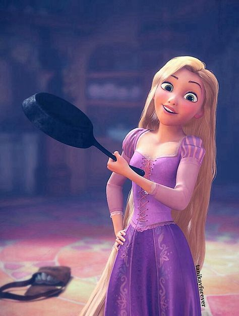 30 day Disney challenge day 10 best hair obviously Rapunzel