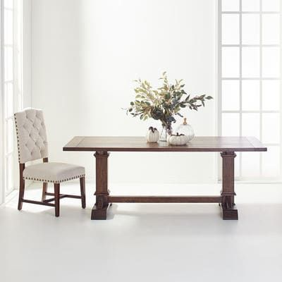 Dawson Walnut Brown Dining Tables
