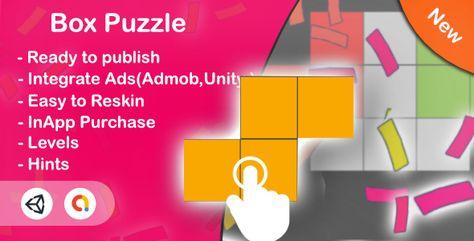 Box Puzzle (Unity Game+Admob+iOS+Android) | Codelib App