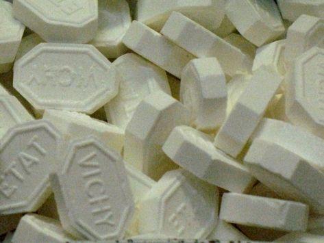 La pastille de Vichy - Auvergne - France