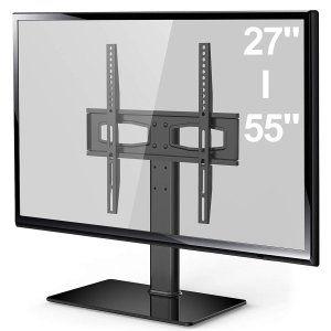 Fitueyes テレビスタンド 27 50インチ対応 壁寄せテレビスタンド テレビ台 高さ調節可能 Tt104201gb テレビ台 高さ 壁 テレビ台