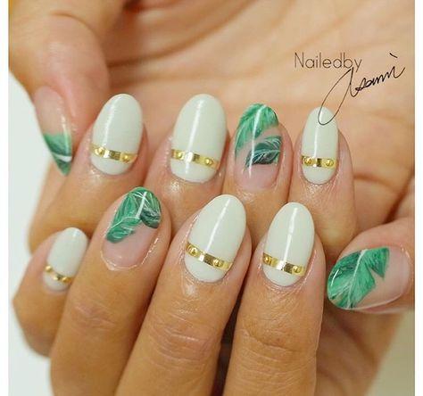 Tropical nails by @asami812