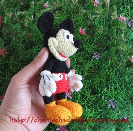 Mickey Mouse Amigurumi Crochet Projects To Try Pinterest