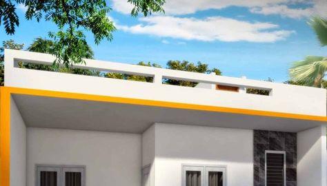 dak cor depan rumah minimalis - denah rumah