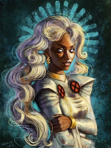 Storm by Kokomiko  More @ http://pinterest.com/ingestorm/comic-art-storm & https://pinterest.com/ingestorm/comic-art-storm-black-panther & http://pinterest.com/ingestorm/comic-art-x-men & http://groups.yahoo.com/group/Dawn_and_X_Women & http://groups.google.com/group/Comics-Strips & http://groups.yahoo.com/group/ComicsStrips & http://www.facebook.com/ComicsFantasy & http://www.facebook.com/groups/ArtandStuff