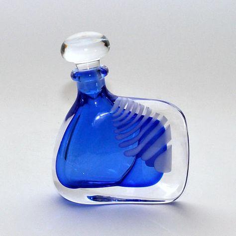 Heart in apple perfume bottle, 1990