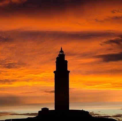 Coloooooor Galicia Sunset Atardecer Atardecer