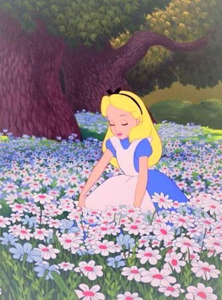 Iphone Wallpaper Wallpaper Iphone Disney Princess Alice In Wonderland Aesthetic Cartoon Wallpaper