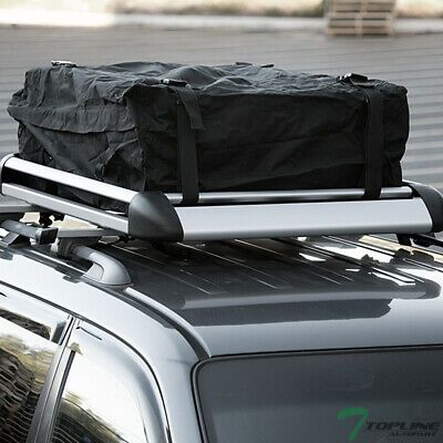 Sponsored Ebay 49 Silver Square Aluminum Roof Rail Rack Cross Bar Cargo Carrier Basket Bag T01 Aluminum Roof Basket Bag Cargo Carrier