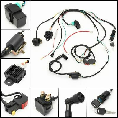 Cdi Wire Harness Stator Assembly Wiring Harness For Chinese Atv Quad 50cc 125cc Ebay In 2020 Motorcycle Wiring Quad Bike Harness