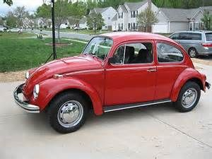 1968 Vw Beetle Red