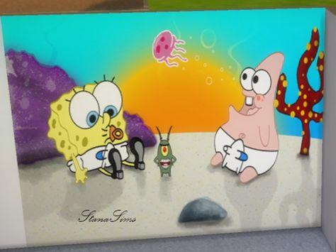 Stanasims' Wallpaper Spongebob for kidsroom