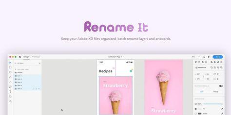Rename it