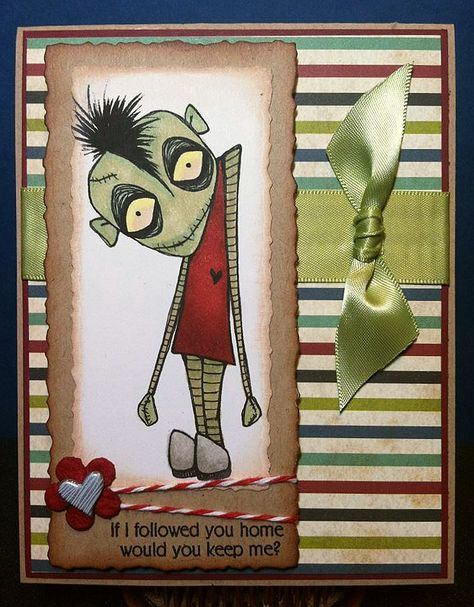 Paper Crafts by Candace: Zombie Love Blog Hop!