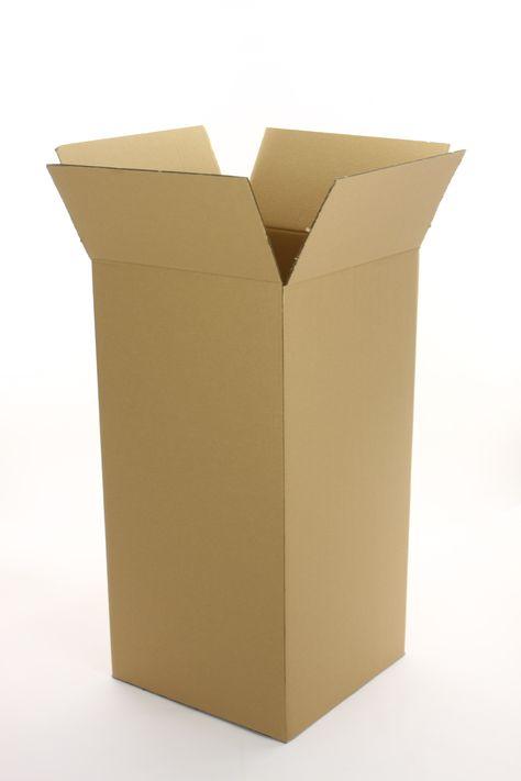 1 St Bücher Umzugs Versand Faltkartons 600x400x400 2-wellig braun BC-Welle