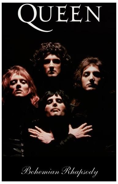 Queen Bohemian Rhapsody Poster 11x17 in 2019 | Posters | 70s music