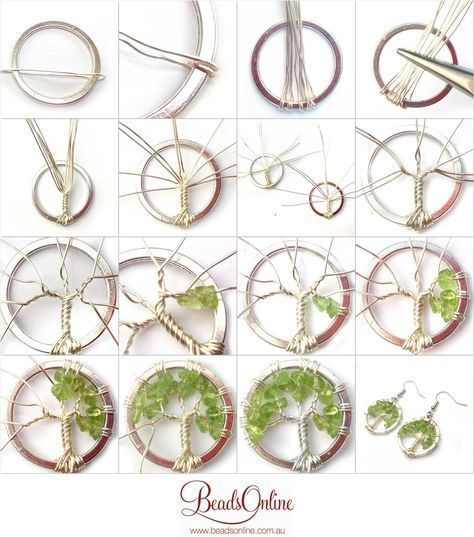 #Earring #Life #tree #Tutorial