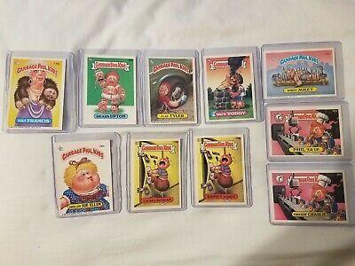Ebay Ad Url Lot Of 10 1986 1987 Garbage Pail Kids Cards In 2020 Garbage Pail Kids Cards Garbage Pail Kids Kids Cards