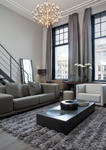 Cortinas Para Salones Modernos Salones Modernos 2018 Salones Modernos De Belleza Salones M Grey Curtains Living Room Living Room Grey Minimalist Living Room