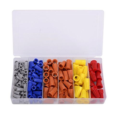 158pc Wire Connector Assortment