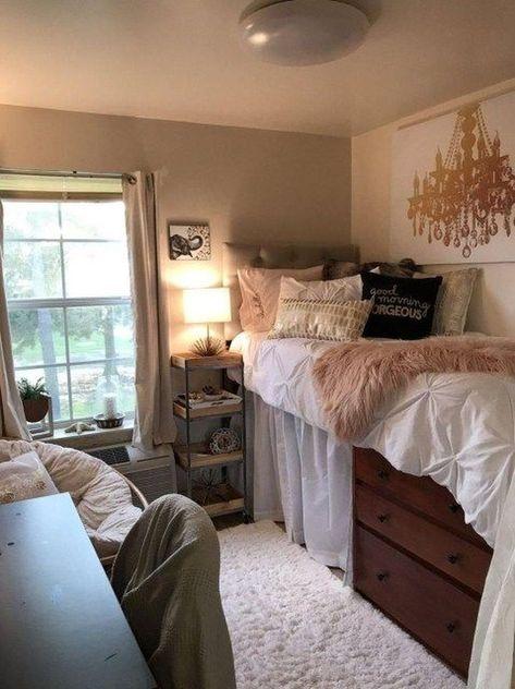 44 Efficient Dorm Room Organization Ideas