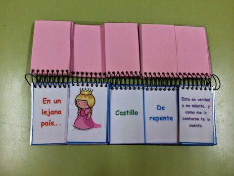 Libro móvil para crear cuentos.Podrás trabajar la expresión oral, escrita y la creatividad.MI MUNDO DE PEDAGOGÍA TERAPEÚTICA