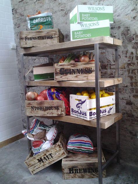 Bespoke Wood Display Crate/Riser