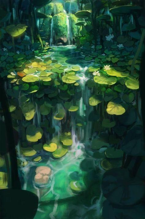 51 Enigmatic Forest Concept Art die Sie in Erstaunen versetzen wird  Merys Stores