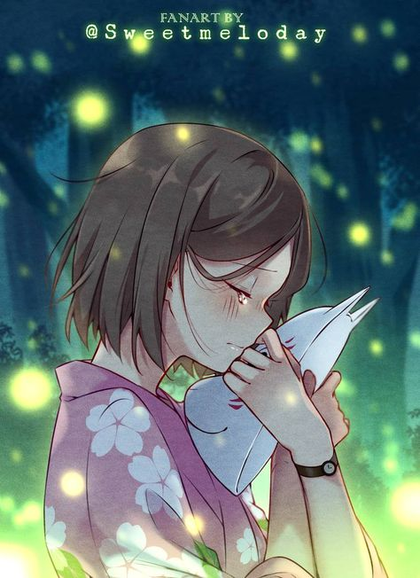 [FANART] Hotarubi no Mori e: Hotaru by Sweetmeloday on DeviantArt