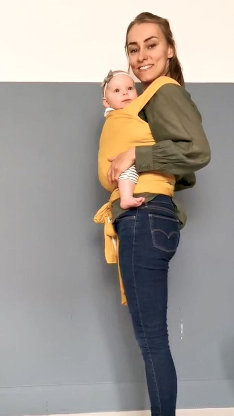 How to place a wiggly 5 month old in the Fornessi carrier.  Insta @fornessistudi... - Brooke Lenhart - #Brooke #carrier #Fornessi #fornessistudi #insta #Lenhart #month #Place #wiggly