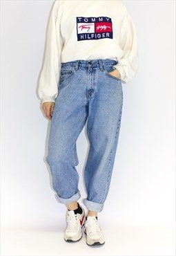 Vintage Plus Size High Waist Stonewash Mom Jeans Vintage Mom Jeans Plus Size Mom Jeans Retro Outfits