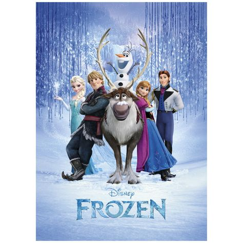 Frozen: Movie Poster Mural - Officially Licensed Disney Removable Wall Adhesive Decal Large by Fathead | Vinyl