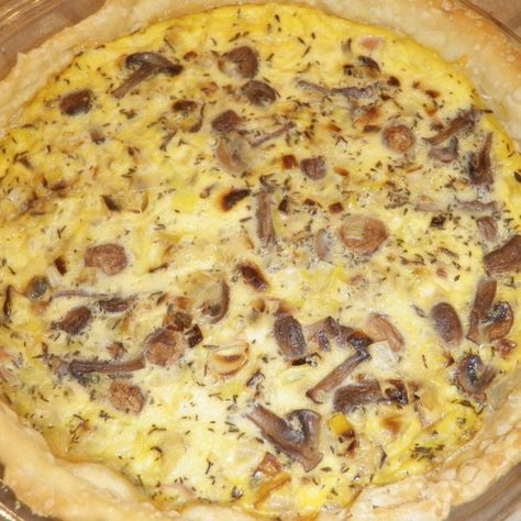 Best quiche recipe I've ever tried! Cowgirl Quiche from the Pioneer Woman