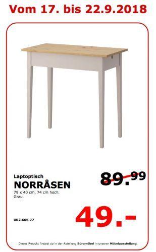 NORRÅSEN Laptoptisch von IKEA ansehen!