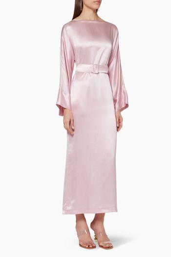فستان جاكي حرير ستان فساتين فستان اسعار ماركات عالمية فخمة راقية بيرناديت Dresses Cold Shoulder Dress Dresses With Sleeves