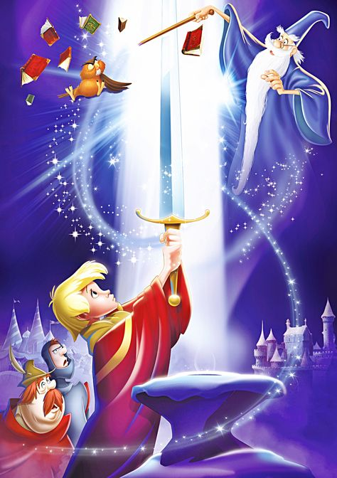 Walt Disney Characters Photo: Walt Disney Posters - The Sword in the Stone