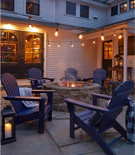 Find the best All-Weather Waterfall Adirondack Chair at L. Our high quality home goods are designed to help turn any space into an outdoor-inspired retreat. Outdoor Spaces, Outdoor Living, Outdoor Decor, Outdoor Patio Decorating, Outdoor Patios, Outdoor Kitchens, Backyard Patio Designs, Small Backyard Patio, Small Backyard Design