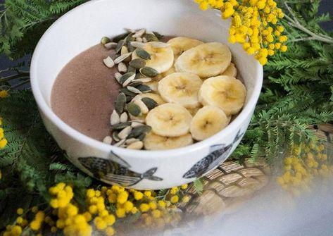 Porridge De Avena Platano Maca Y Cacao En Thermomix Receta