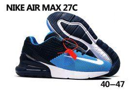 Mens Womens Nike Air Max 270 Flyknit Running Shoes Hyper Pink Black White BQ0742 996 bq0742 996