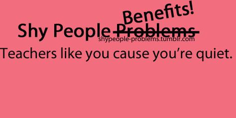 Shy People Problems on Pinterest | Shy People Problems ...