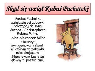 Kubus Puchatek House At Pooh Corner Now We Are Six Hans Christian