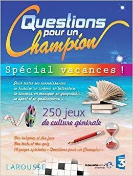 Telecharger Cahier De Jeux Questions Pour Un Champion Sp Eacute Cial Vacances Gratuit This Or That Questions Person Personal Care