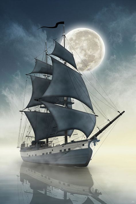 Pirates Art Print featuring the digital art Dragons Of The Seas - The Spirit Of The Pirate Ship by Moira Risen