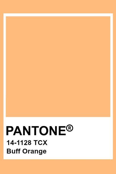 Pantone Buff Orange