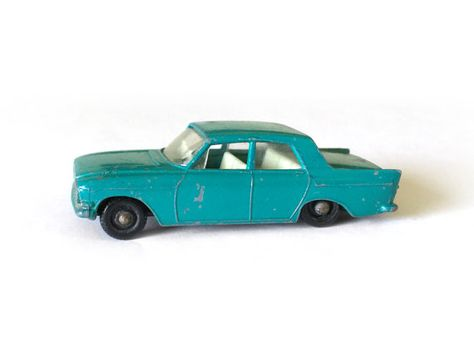 1963 Lesney Matchbox Ford Zephyr 6 By Redravencollectibles Ford Zephyr Toy Car Diecast Toy