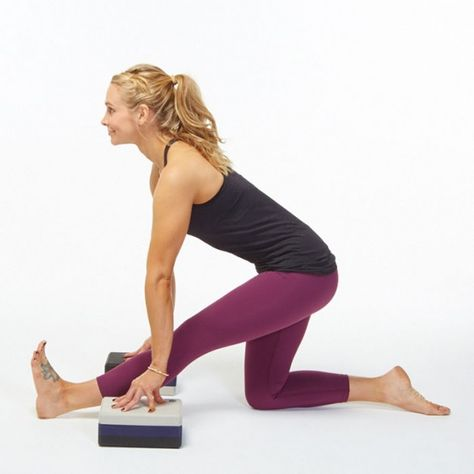 stretch out your it band with this halfsplit pose  yoga