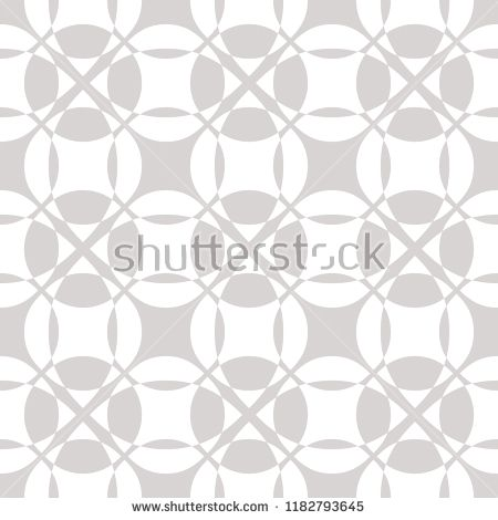 Vector Abstract Geometric Seamless Pattern In White And Gray