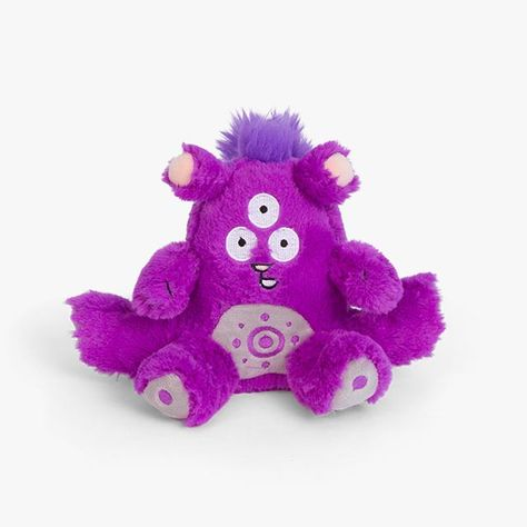 Peaceful Percy Space Squirrel Best Dog Toys Alien Plush Dog Toys
